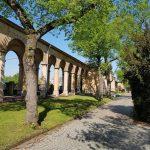 Arkaden, Hauptfriedhof, Mannheim,