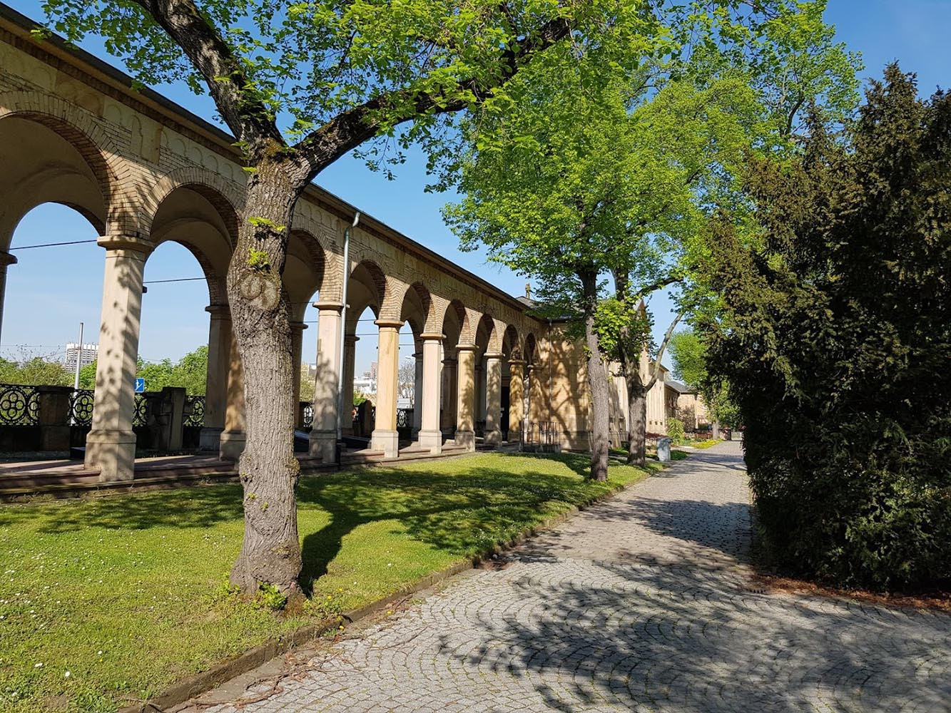 Hauptfriedhof Arkadenbau, Mannheim