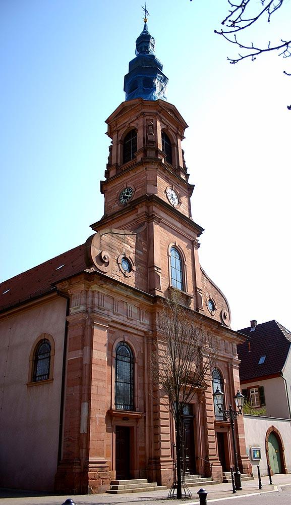 Evangelische Stadtkirche, Schwetzingen