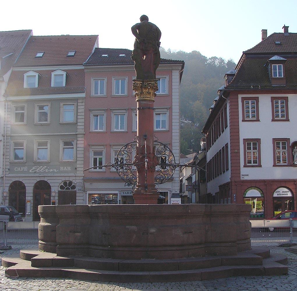 Herkulesbrunnen, Heidelberg