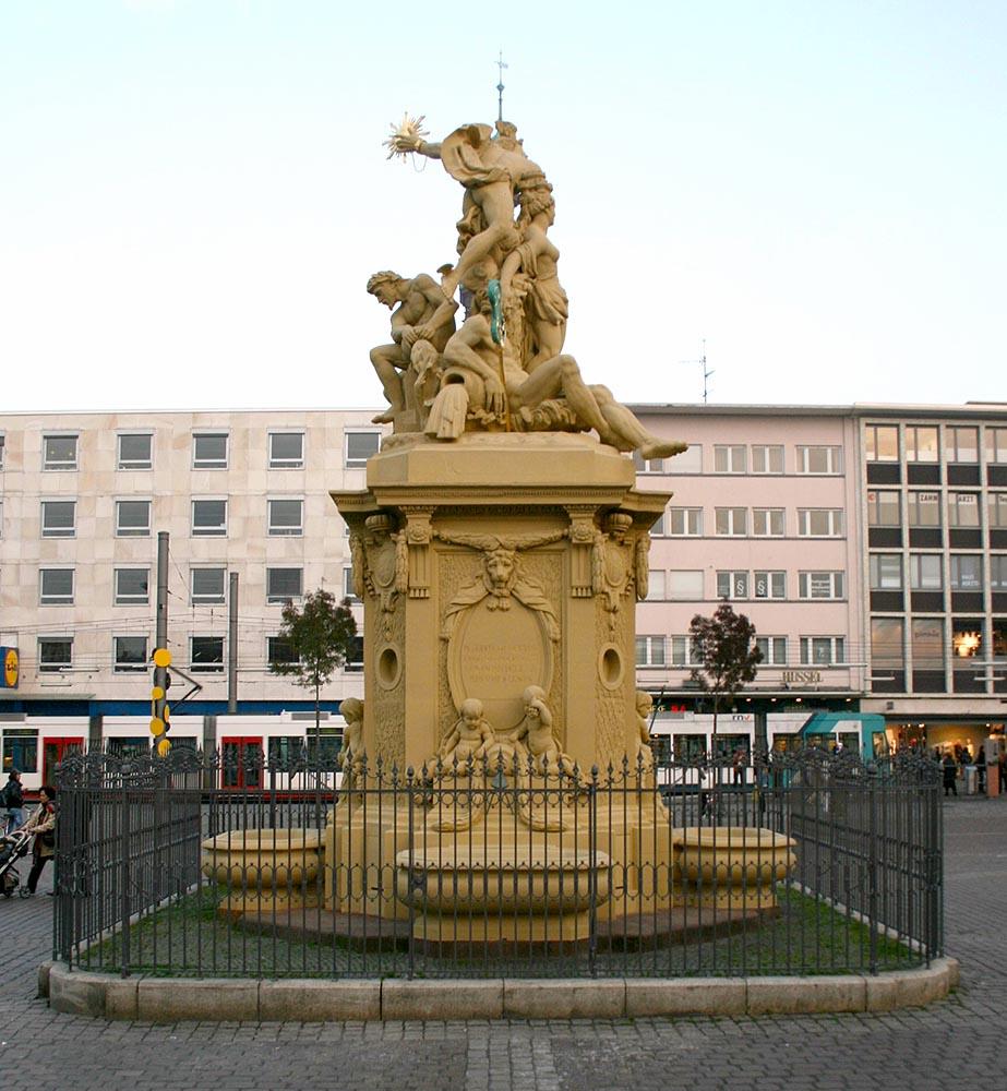 Marktplatz-Brunnen, Mannheim