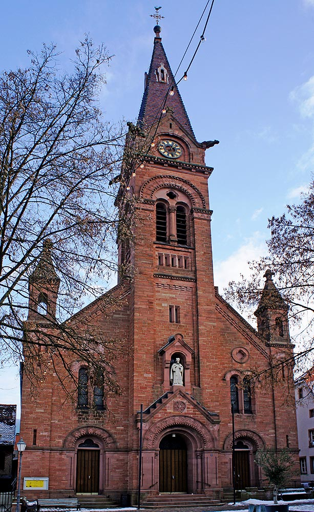 St. Johannes Nepomuk, Neckargemünd