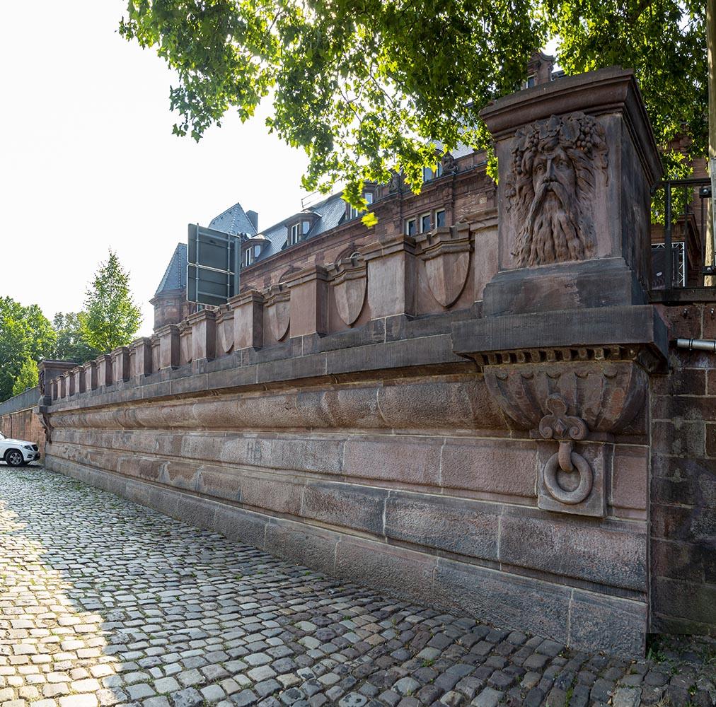 Stützmauer, Heidelberg